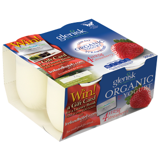 Organic Low Fat Strawberry Yoghurt