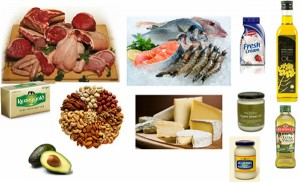 Foods containing healthy fats including saturated fats - and all foods you can enjoy on Atkins!