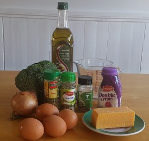 broccoli quiche ingredients